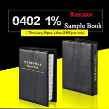 0402 Practical SMD/SMT ±1% Resistors Sample Book Components 0Ω-10MΩ Assorted KIT