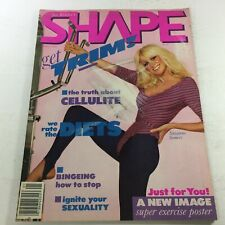 VTG Joe Weider's Shape Magazine: January 1983 - Suzanne Somers Cover Issue