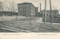 PHILLIPSBURG NJ – Standard Silk Mill - udb (pre 1908)