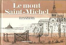 LE MONT SAINT MICHEL - DESSINS DE MICHEL HARY  - NEUF