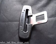 PEUGEOT CAR SEAT BELT ALARM BUCKLE KEY INSERT PLUG CLIP SAFETY CLASP STOPPER