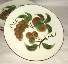 Stangl Orchard Song 4 Dinner Plates