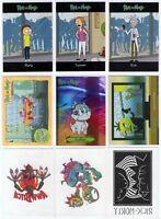 Cryptozoic Rick and Morty Season 1 9-Card Limited Convention Set SNUFFLES (ACS)