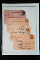 Germany 100-year-old Underground Stationary Stamp Collection