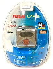 RCA Lyra! RD 1020 NEW SEALED MP3 Player 64mb USB/ SD MMC Card Connection Lyra