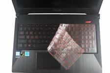 Leze - Premium Tpu Keyboard Protector Skin Cover For Asus Fx503Vd Fx504,Rog Stri