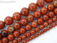 Natural Red Jasper Gemstone Round Loose Beads 16'' 2mm 3mm 4mm 6mm 8mm 10mm 12mm
