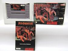 PIT-FIGHTER SNES Super Nintendo CIB