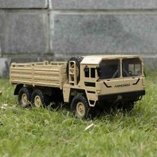 JJR/C Q64 1:16 RC Off-Road Military Truck 2.4G 6WD Car with Head Lights F2X4