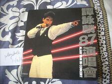 a941981 Alan Tam HK Paper Back 1987 Live Concert Double CD 譚詠麟 VG Copy