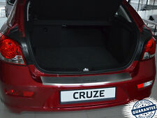 Chevrolet CRUZE 5D FL 2012- Rear Bumper Profiled Protector Stainless Steel Cover