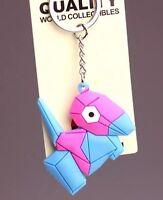 Pokemon Center #My151 Metal Charm # 137 Porygon Key Chain
