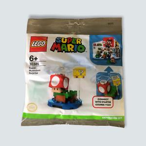 LEGO Super Mario - Super Mushroom Surprise Polybag (30385) - New/Sealed/Mario 🐙