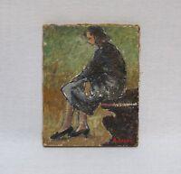ADRIANO BOGONI (Italian, 1896-1970) Oil Painting on Canvas (1940s)