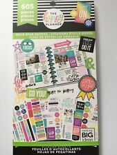 Create 365 The Happy Planner® Gold Star Quotes Sticker Sheets Value Pack 605 NEW