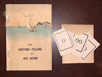 THE FORTUNE TELLING OF OLD JAPAN, DIVINATION, ORACLE, OCCULT, SCARCE