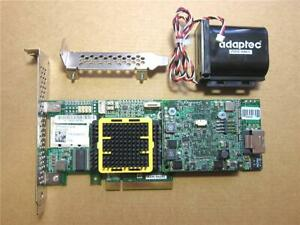 Adaptec ASR-5405z RAID Controller inkl. BBU Modul u. Kabel