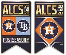 2020 ALCS PIN SET(2) AMERICAN LEAGUE CHAMPIONSHIP SERIES HOUSTON ASTROS V. RAYS
