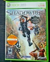 Shadowrun for Xbox 360 - Factory Sealed