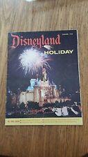 Disneyland Holiday Magazine Travel Brochure Summer 1958