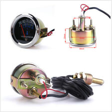 DC 12V Car  Metal Mechanical Water Temperature Guage with 5/8 UNF Threaded End