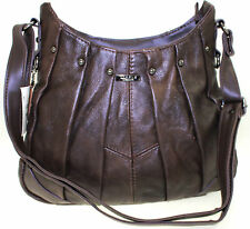 Women Lorenz Genuine Leather Handbag Soft Cross Body Shoulder Bag BR Uk Seller