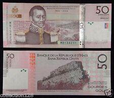 Haiti Paper Money 50 Gourdes 2004 UNC