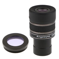 "1.25"" Astronomy Telescope Zoom Eyepiece Set 7.5mm-22.5mm & Moon Color Filter"