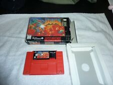 Doom Super Nintendo Snes with box tested works