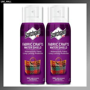3M Scotchgard Fabric & Crafts Protector, 2 Pack, 10 oz, SAME DAY SHIP