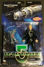 Babylon 5 Susan Ivanova With Starfury Action Figure Nib Fresh From Box