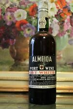 PORTO - ALMEIDA PORT WINE – DRY WHITE -  ANNI 70s VINTAGE PORT 1970s  THE DOURO