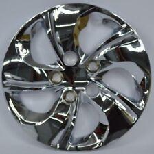"Set of 4 15"" CCI Chrome Plastic Wheel Covers for 5-lug wheels 510-15C"