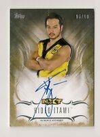2016 TOPPS WWE UNDISPUTED HIDEO ITAMI AUTO #/10 GOLD NXT AUTOGRAPH #06/10