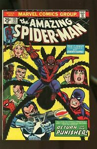 Amazing Spider-man #135, VG+ 4.5, 2nd Full Appearance of Punisher; MVS