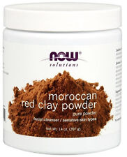 Now Foods Solutions, Moroccan Red Clay Powder, Facial Mask, 14 oz (397 g)