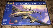 NEW Revell 1:72 Handley Page Halifax B Mk.I/II GR.II Airplane Model Kit 04394