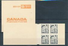 [325568] Canada lot of 2 good complete booklets very fine Mnh