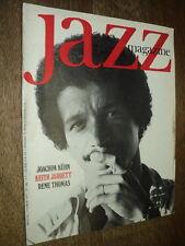 JAZZ MAGAZINE 230 (2/75) JOACHIM KUHN KEITH JARRETT RENE THOMAS NAT KING COLE