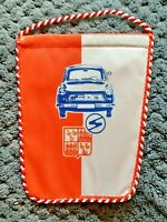 Orig. DDR Wimpel Trabant IFA 14 x 11 cm Sachsenring Zwickau Fussball Pennant
