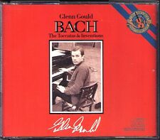 Glenn Gould: Bach 7 Toccatas & Two and Three-Part Inventions BWV 772-801 CBS 2cd