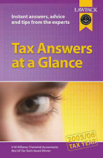 """VERY GOOD"" Tax Answers at a Glance: 2005/2006 Tax Year, H M Williams Chartered"