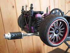 1/10 Aluminum RC CAR Exhaust Pipe MUFFLER for On Road HPI TT1 Drift