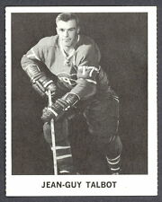 1965 COCA-COLA COKE JEAN GUY TALBOT EX-NM MONTREAL CANADIENS HOCKEY CARD