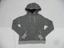 Roxy Shoal Hoodie Stripe Black & White Sweats & Hoodies Sz Small SERJFT03497