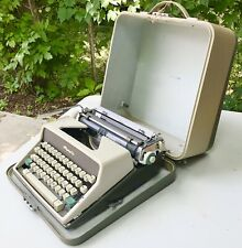 Vintage Typewriter Olympia Germany Portable Mechanical Works