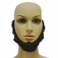 Cosplay Costume Party Man Halloween Beard Facial Hair Disguise Black Mustache>G