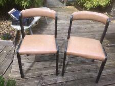 Paire chaises vintage BAUMANN