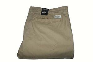 Quiksilver Pants Mens Sz 33X32 Khaki Brown Everyday Union Straight Fit Pant NWT