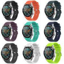 22mm Deporte Silicona Correa de Reloj Pulsera Banda Para Huawei Watch GT Active